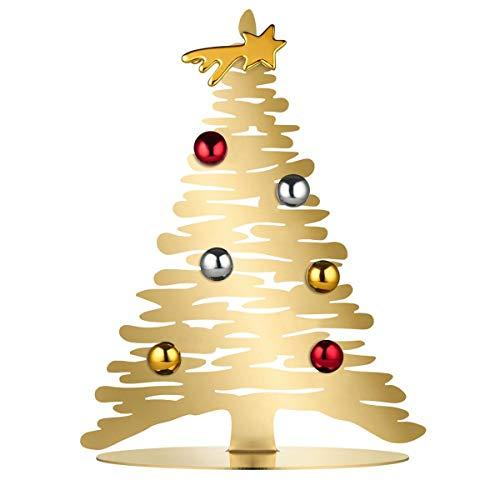 Alessi Weihnachttsschmuck, Gold, One Size