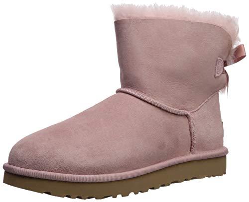 UGG Australia Damen W Mini Bailey Bow Ii Stiefeletten, Pink (Rosa Crystal Pcry), 39 EU