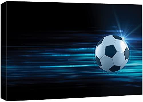 Canvas Print Wall Art Soccer Ball