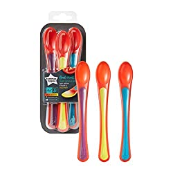 a 3 pack of tommee tippee explora spoons