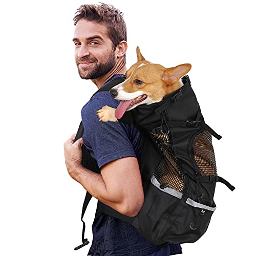 Myston Dog Carrier Backpack, Dog Tr…