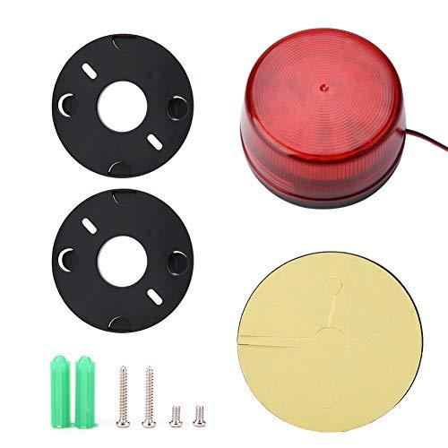 Tangxi LED-Notblitzlicht, DC 12V/24V LED-Blitzlampe Sicherheitsalarm-Blitzsignal Warnleuchte, LED-Blitzlichter