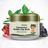 AJUMKER Carbonated Bubble Clay Mascarilla Oxígeno Barro Hidratante Limpieza profunda Blanqueamiento...