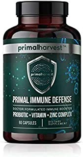 Primal Immune Defense : The All-in-ONE Immune Support Formula Doctor-formulated 3-Step Solution for Total Immune System op...