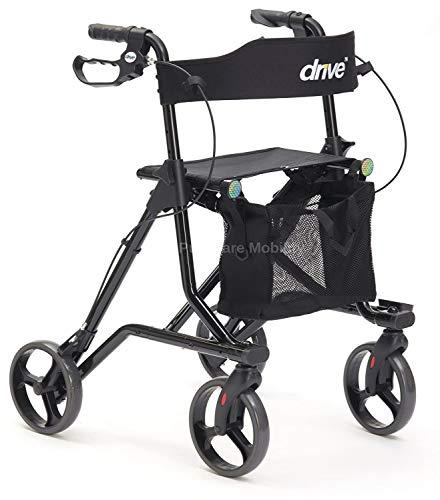Rollator Torro, Gehhilfe mit Sitz und 4 Rädern