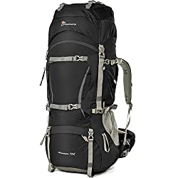 Mountaintop 70 liter backpack, ideal for hiking trips