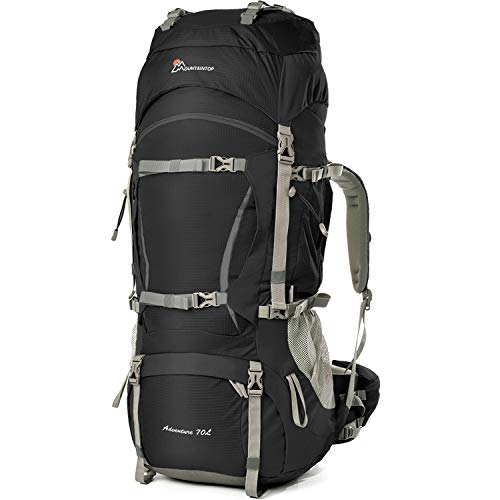 MOUNTAINTOP 70L/75L Internal Frame Hiking Backpack