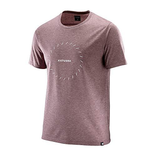 KATUSHA Herren DRI Release T-Shirt, Fired Brick, M