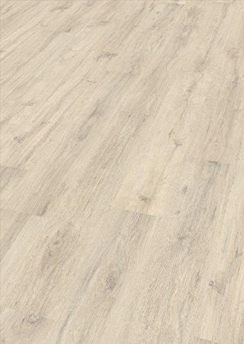 EGGER Home Laminat hell grau Holzoptik - Kurimo Eiche EHL014 (7mm, 2,481 m²) Klick Laminatboden | Bodenbelag