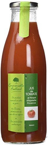 Emmanuelle Baillard pur jus de tomate 75cl - Lot de 3