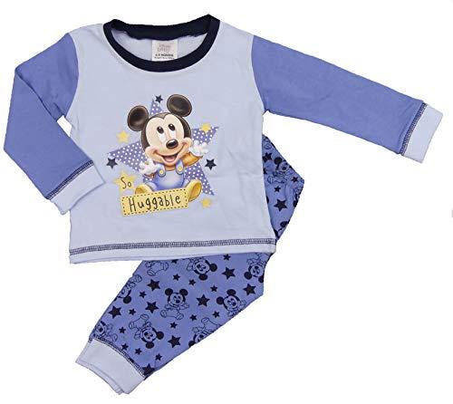 Baby-Schlafanzug für Jungen und Mädchen, Tatty Ted Tiny Tatty Teddy Minnie Maus Mickey Mouse Tigger Gr. 86, Micky Maus – knuddelig.