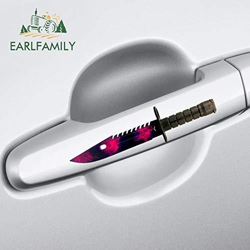 A/X 13 cm 3,3 cm para CSGO Skin Doppler M9 Cuchillo Personalidad calcomanía Creativa Van Pegatinas de Coche DIY Moda decoración de oclusión