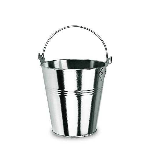 Grisun Wood Pellet Grill Drip Grease Bucket for Traeger, Pit Boss, Z Grill, Camp Chef, Green Mountain Grills Metal Pail Accessories