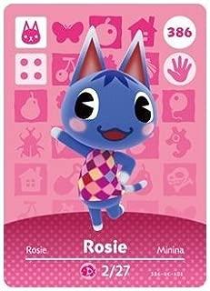 Rosie- Nintendo Animal Crossing Happy Home Designer Series 4 Amiibo Card -386