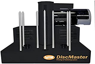 Systor DM-1400P Systor DiscMaster 4 Drive Automated CD-DVD Publishing System with PicoJet Inkjet Printer (300 Disc Capacity)