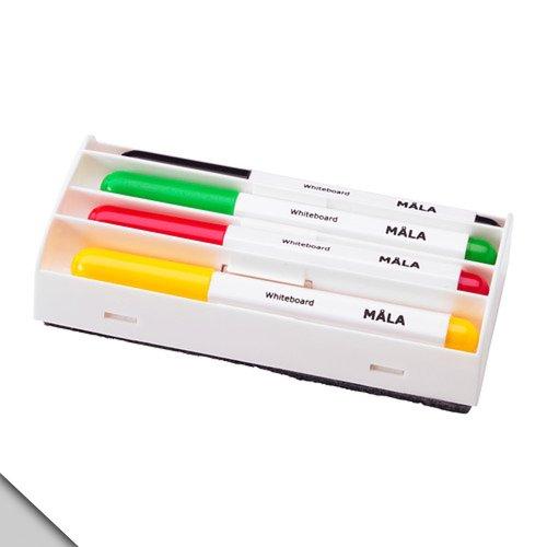 IKEA - MÅLA White Board Markers, verschillende kleuren (2 sets)