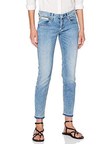 Herrlicher Damen Touch Cropped Jeans, Ocean 036, 28