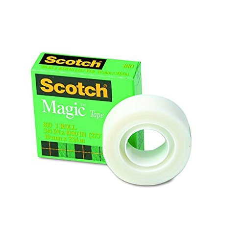 "Scotch 810 Magic Tape, 3/4"" x 1296"" - 12 Rolls Photo #3"