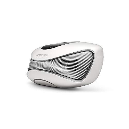 Energy Sistem Speaker FS2 Altavoz portátil con Bluetoothy Tecnología True Wireless (Bluetooth 5.0, TWS, 12W, USB/SD, Audio-In, Manos Libres y Display) -Blanco