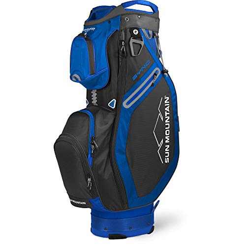 Sun Mountain 2020 Sync Cart Bag Black/Blue