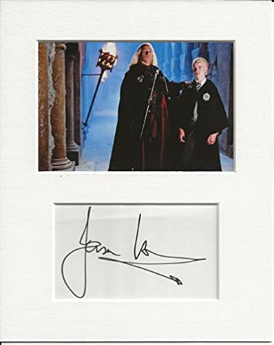 Jason Isaacs Harry Potter autografato autografo autentico e foto display AFTAL