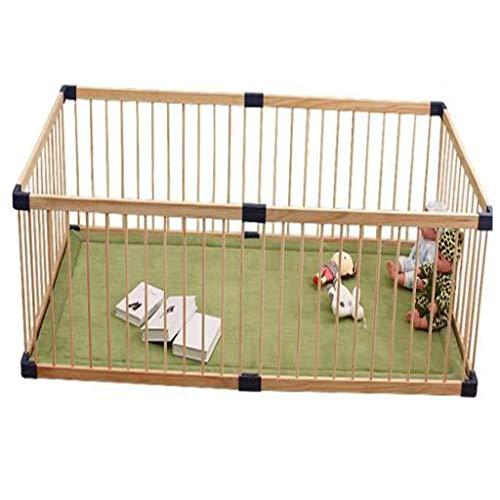 IMBM-Bebè Box Girello Safety Play Yard for Home Indoor Outdoor, Gate Baby Pet Fence Barriera sicura, Centro attività per Bambini (110 * 160 cm) Fai-da-Te