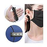 Elastische Bänder für Gesicht Breite elastische Schnur für Crafts elastisches Seil, Gummi-+-band...