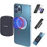 Zukakii 10000mAh Magnetic Wireless Portable Power Bank, 2021 15W/20W Mini Fast Charging USB-C Mag-Safe Charger, High-Capacity External Battery Pack Compatible for iPhone 12/12 Pro/12 Pro Max/12Mini