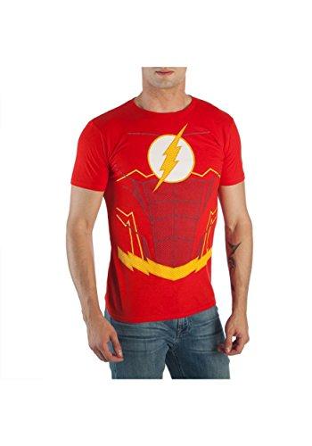 Flash Suit up Heren Fancy Jurk Kostuum T-Shirt X-Large