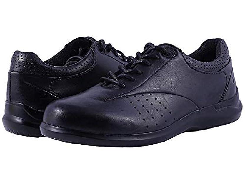 ドレイン古風な細部[ARAVON(アラヴォン)] レディースレースアップ?オックスフォード?靴 Farren Black Leather (27cm) WW (EE) [並行輸入品]