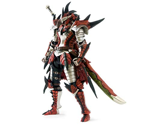 [E-capcom Limited] Monster Hunter 4 full operation action figure series equipped with Hunter Reus (swordsman) (japan import)