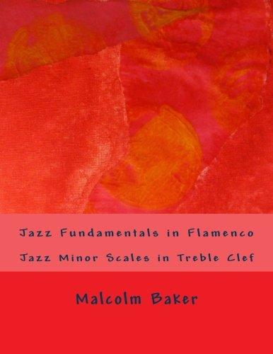 Jazz Fundamentals in Flamenco: Jazz Minor Scales in Treble Clef