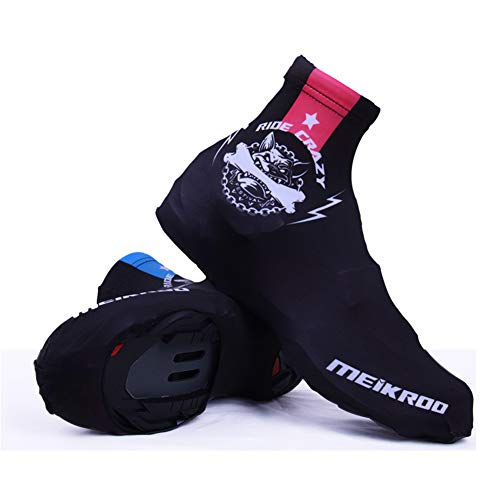 LUCHONG Outdoor Sports Windproof Waterproof Warmer Booties Covers,Sundried Cycling Overshoes Best for Summer,Bicycle Shoe Covers,XL