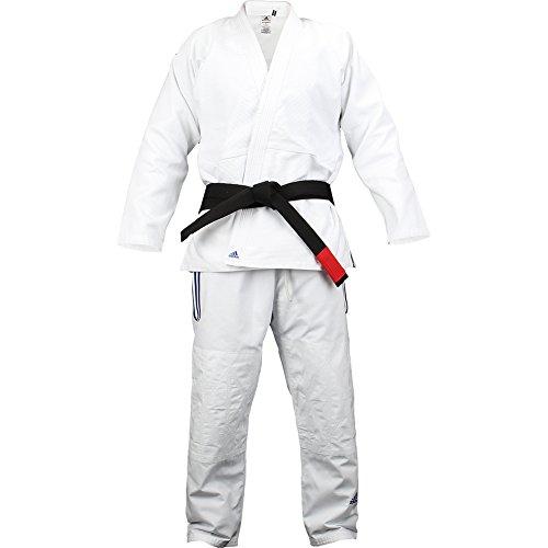 adidas White Jj601 Champion Kimono A5