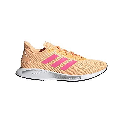 adidas GALAXAR Run W, Zapatillas de Running Mujer, NARACI/ULTPOP/FTWBLA, 42 EU