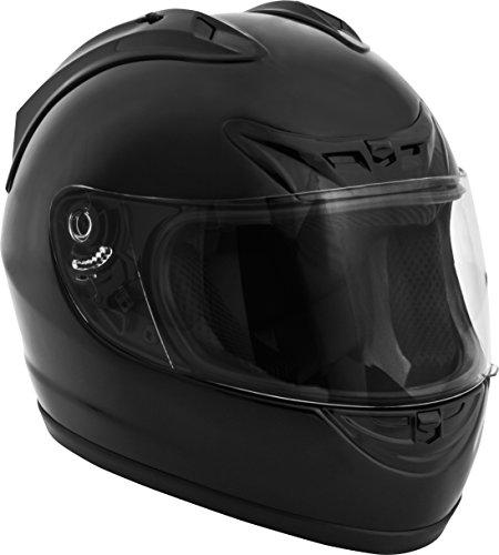 Fuel Helmets SH-FF0016 Unisex-Adult Full Face Helmet (Gloss Black, Large)