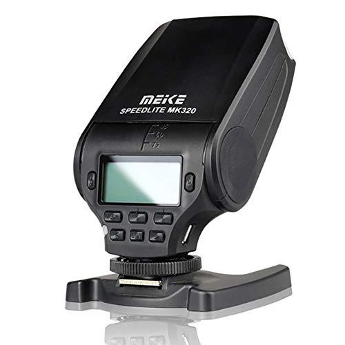 Meike – mk320s TTL Flash Speedlite para Meike MK-320 TTL Flash Speedlite trabajo para Sony A7 A7R A7S A7 II A7SII A7RII A77 II A6000 A6500 NEX-6 A58 A99 Cámaras + Difusor