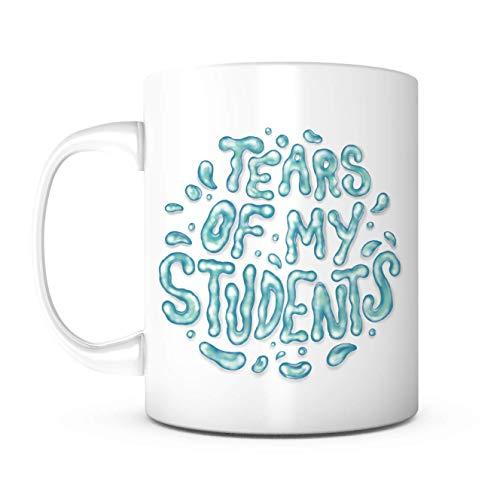 WTOMUG Tears Of My Students Mug-Teacher Mug,Mugs for Teachers,Teacher Appreciation Gifts,Teacher Gift,Best Teacher Gifts,New Teacher Gifts for Women,T.