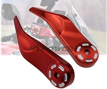 S//GT 2010-2019 CNC Motorcycle manubrio maniglia Bar Handguard della protezione della mano della protezione di protezione RONGLINGXING Parti Powersports For Ducati Multistrada 1200//1260