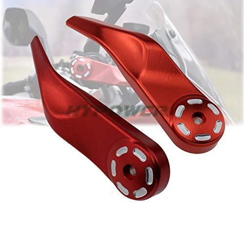 RONGLINGXING Parti Powersports For Ducati Multistrada 1200/1260 / S/GT 2010-2019 CNC Motorcycle manubrio maniglia Bar Handguard della protezione della mano della protezione di protezione