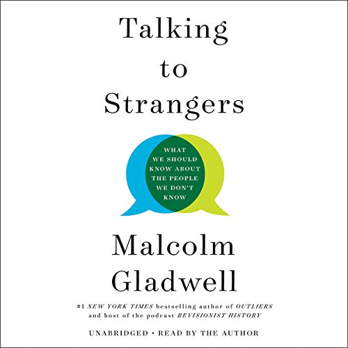 Talking to Strangers audiobook cover art