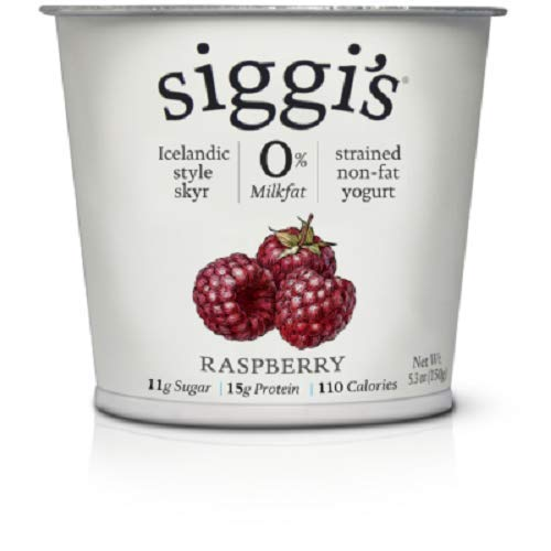 Siggis Fat Free Raspberry Yogurt, 5.3 oz