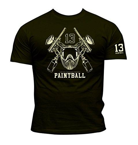 Dirty Ray Paintball Herren T-Shirt KPB2 (S)