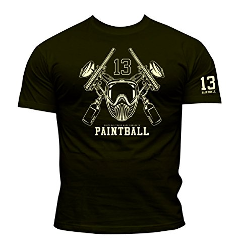 Dirty Ray Paintball Herren T-Shirt KPB2 (L)