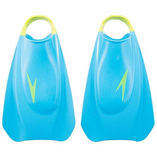 Speedo(スピード) トレーニング用品 練習 フライトレーニング フィン プール 水泳 SE41952 ブルー×グリーン BG L
