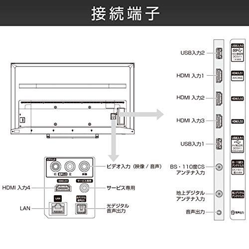 『ハイセンス 65V型 4Kチューナー内蔵 液晶 テレビ 65S6E ネット動画対応 3年保証』のトップ画像