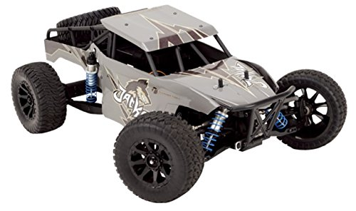 Thunder Tiger T6544-F111 Jackal 1:10 Desert Buggy Brushless, 4WD Offroad, Ready to Run (RTR) inkl. 2,4 GHz Colt Fernsteuerung, Wüstendesign