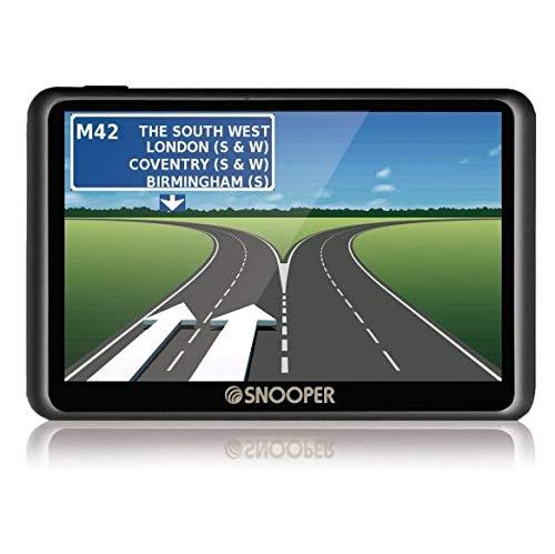 Snooper S6900 Truckmate EU LKW Navigationssystem mit aktiver Magnethalterung