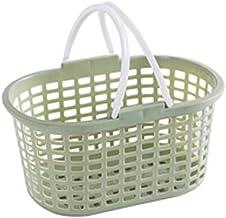 SKGOFGODcw Home Storage Bins Portable Storage Basket, Plastic Storage Basket, Bathroom Basket, Holds Hand Soap, Body Wash,...