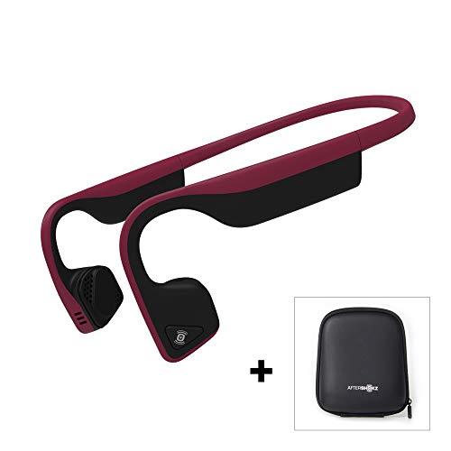 AfterShokz Trekz Titanium Open-Ear Wireless Bone Conduction Headphones with...